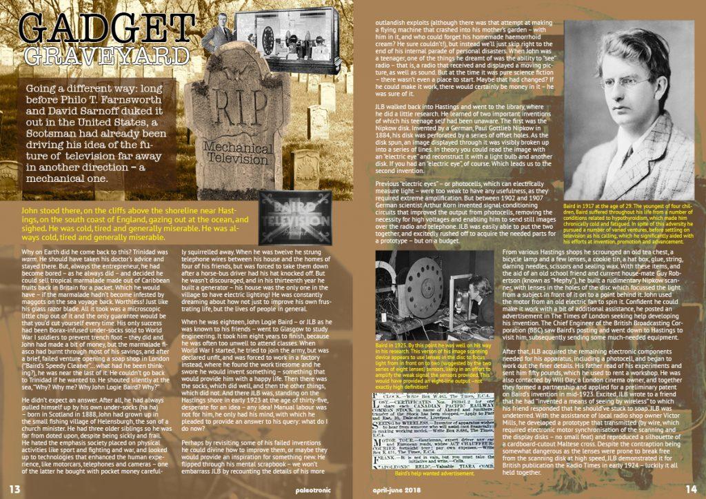 Gadget Graveyard: Baird's Mechanical Television