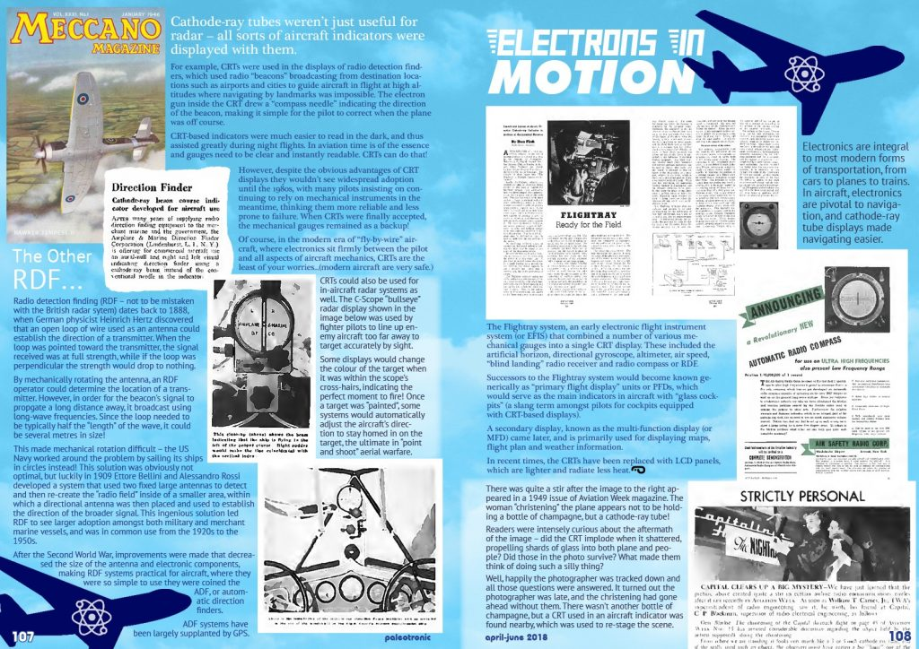 Electrons in Motion: CRTs in Aircraft - Paleotronic Magazine