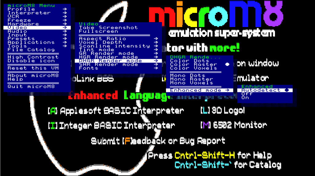 microM8 is an Apple II Emulator for Windows, macOS / OSX and